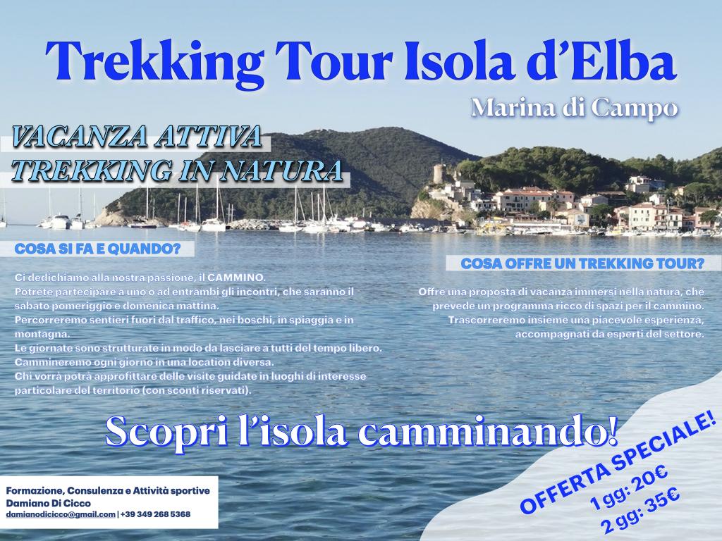 Trekking tour Marina di Campo Isola d'Elba